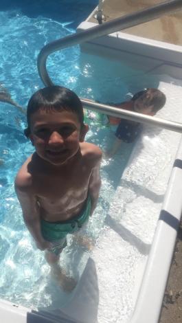 Aidan Swimming